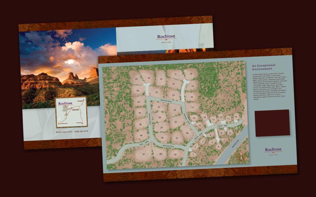 Rimstone Map and Brochure