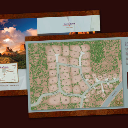 Rimstone Map and Brochure